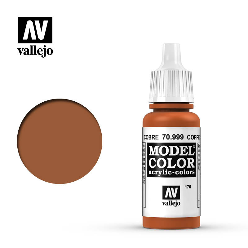 Vallejo Model Color Copper 70989 for painting miniatures