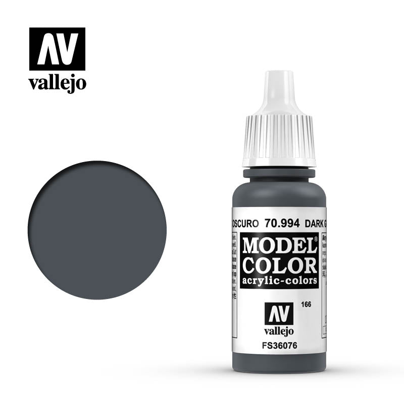 Vallejo Model Color Dark Grey 70994 for painting miniatures