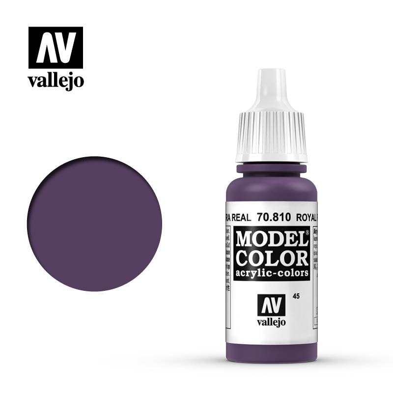 Vallejo Model Color Royal Purple 70810 for painting miniatures