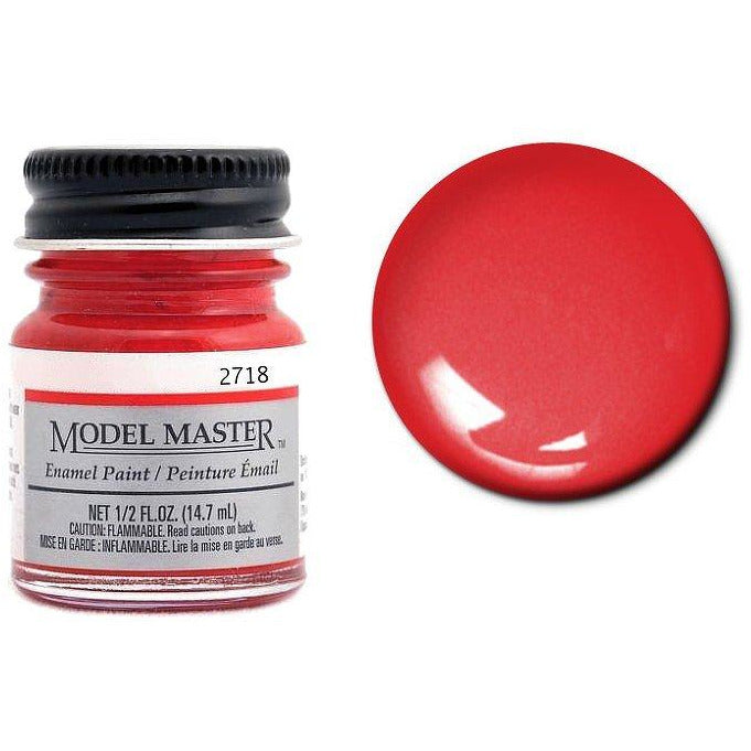 Testors Auto Enamel Paint Guards Red - Gloss