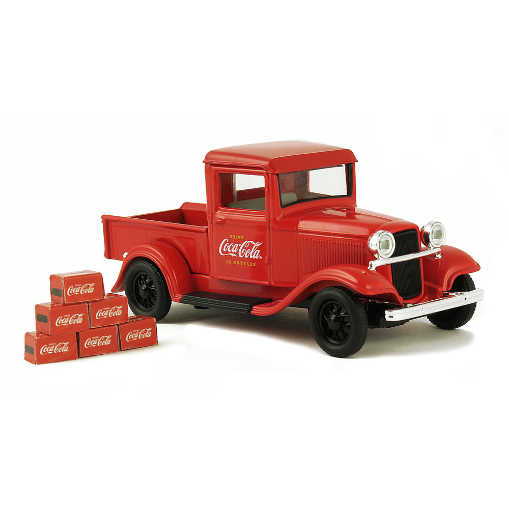 Motor City Classics 1:43 1934 Ford Model A Pickup with 6 Bottle Cartons