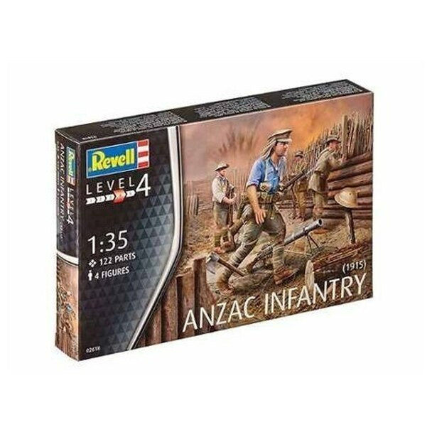 Revell 802618 1:72 ANZAC INFANTRY 1915
