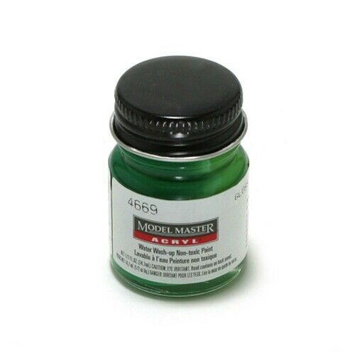 Testors Acrylic Paint Dark Pearl Green - Gloss