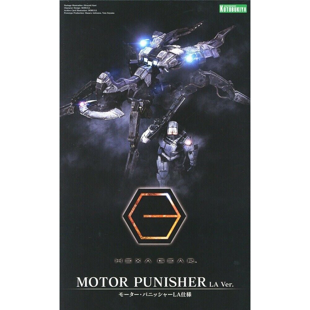 Kotobukiya 1/24 Scale Hex Gear Motor Punisher Plastic Model Kit HG006 KOTHG006