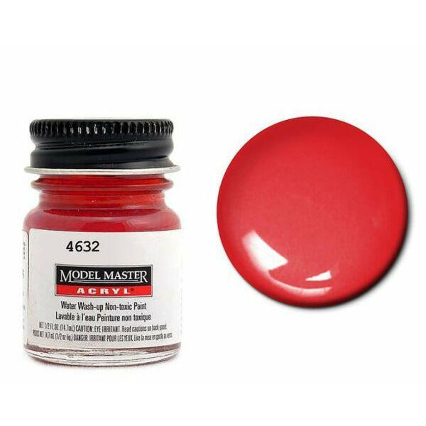 Testors Acrylic Paint Guards Red - Gloss