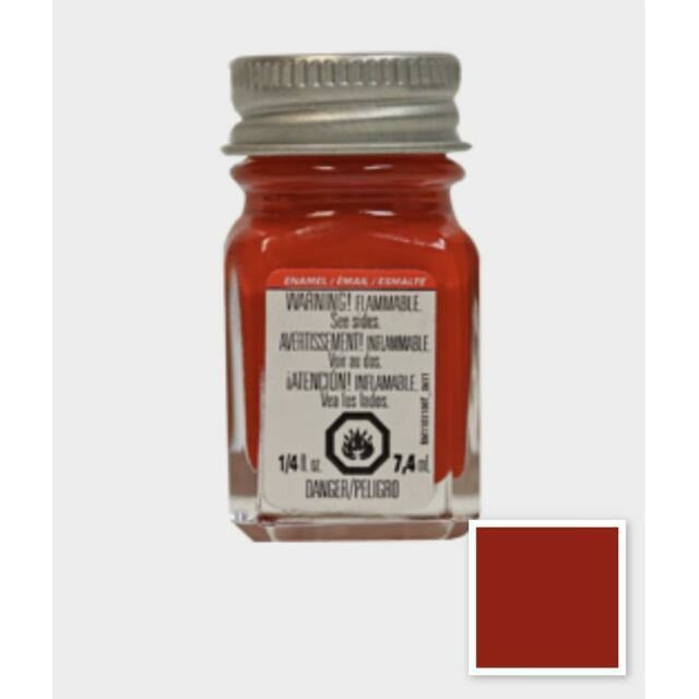 Testors ENAMEL PAINT Red - Gloss