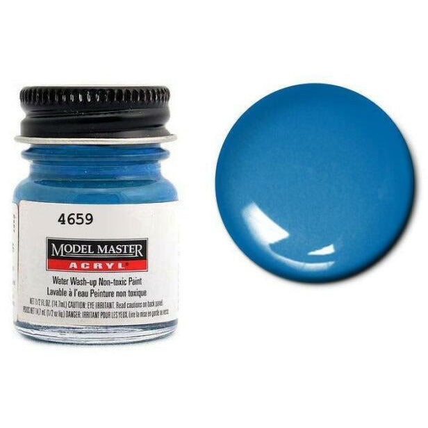 Testors Acrylic Paint French Blue - Gloss