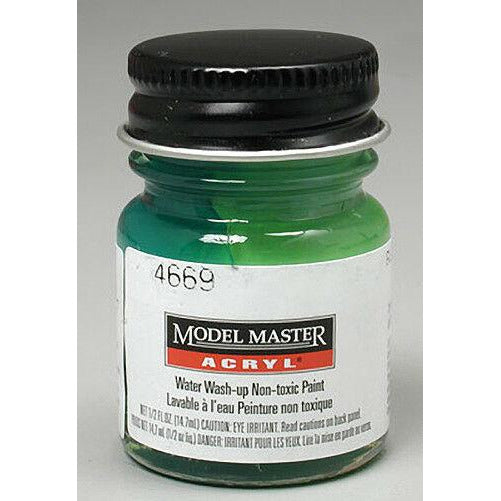 Testors Acrylic Paint Green - Gloss