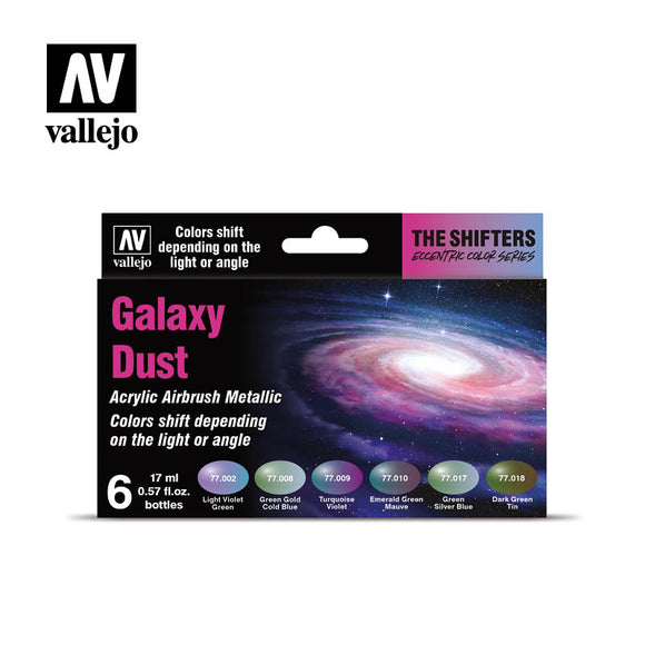 Vallejo Eccentric Color Series - The Shifters - Galaxy Dust