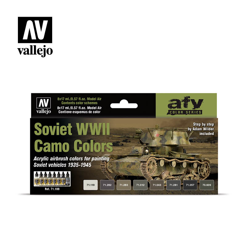 Vallejo AFV - Soviet WWII Camo Colors