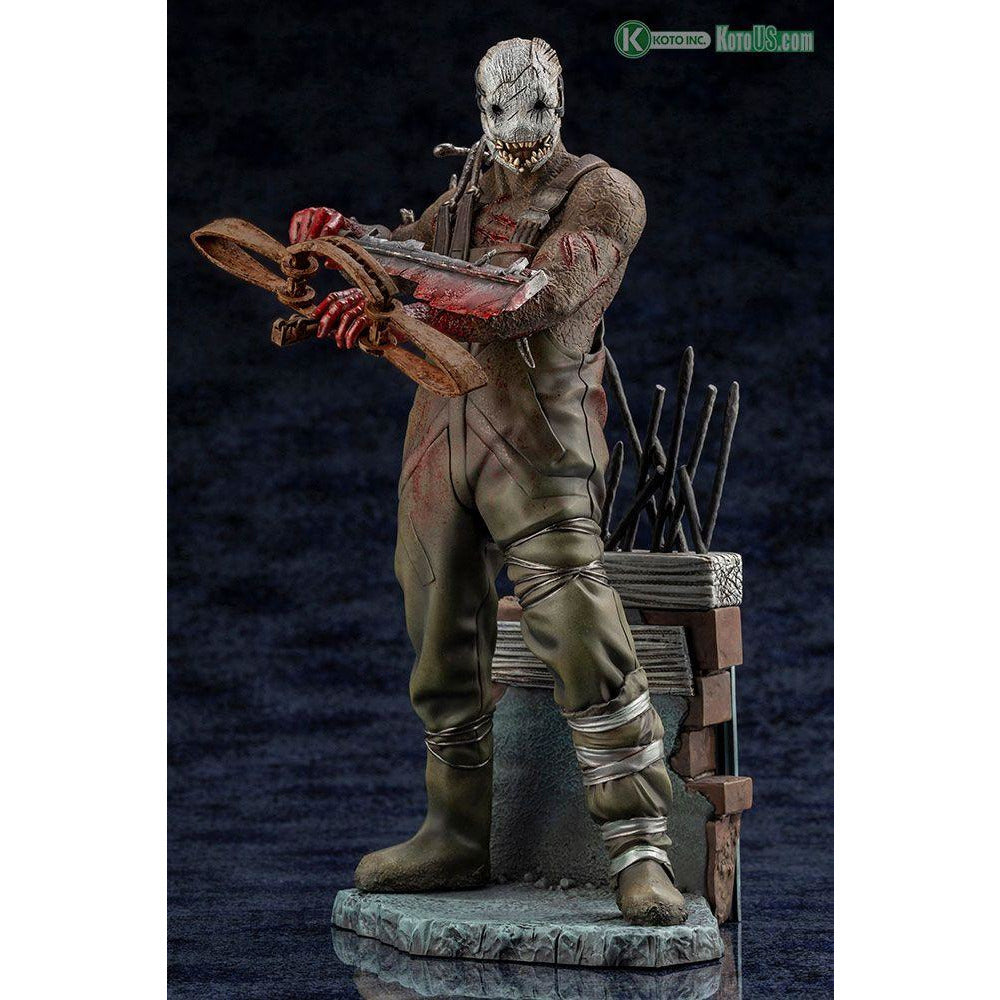 Kotobukiya DEAD BY DAYLIGHT THE TRAPPER STATUE - With Limited Bonus Part