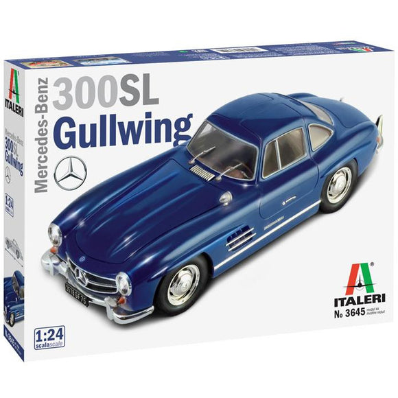 Italeri-1-24-MERCEDES-BENZ-300-SL-GULLWING