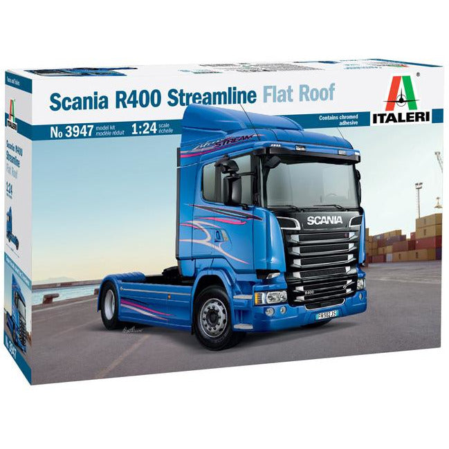 Italeri-1-24- SCANIA R400-STREAMLINE-Flat-Roof
