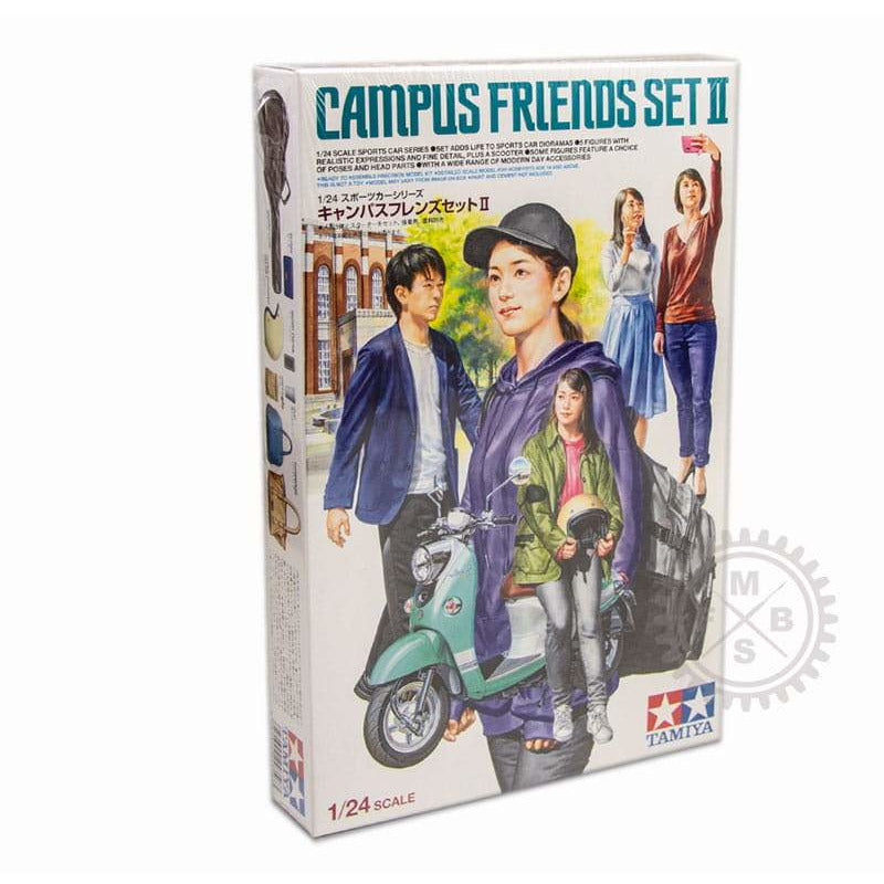 Tamiya 1/24 Scale Campus Friends Set II