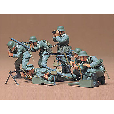 Tamiya 1/35 Scale German Machine Gun Troops