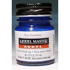 Testors Acrylic Paint Ford/GM Engine Blue - Gloss