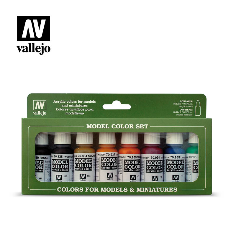 Vallejo Basic - Transparent colors