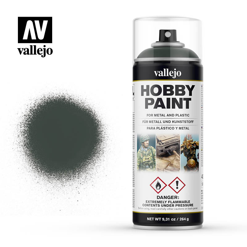 Vallejo Hobby Paint Spray - Dark Green