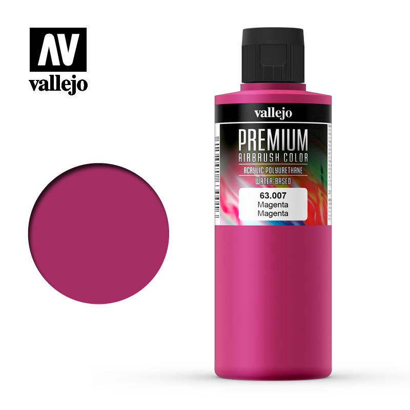 Premium Airbrush Color Vallejo Magenta 63007