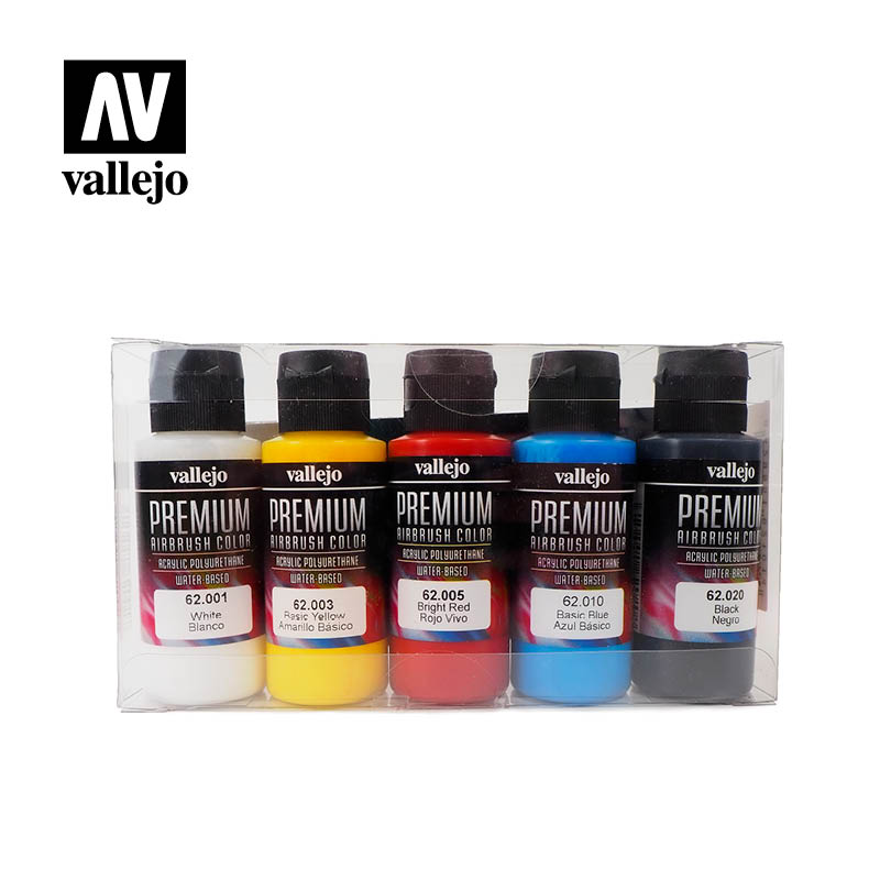 Vallejo Premium RC Color Sets - Opaque Basics