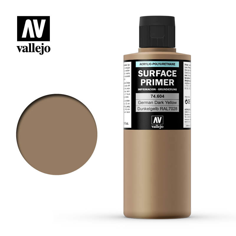 Vallejo Surface Primer German dark yellow 74604
