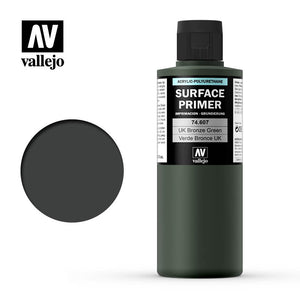 Vallejo Surface Primer UK Bronze Green 74607