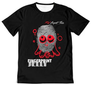 Fingerprint Jelly Black Men's Tee