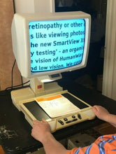 "Load image into Gallery viewer, OPTELEC B/W CLEARVIEW 300 317 REFURBISHED Low Vision Magnifier + 17"" BRIGHT CRT"