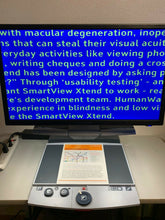 "Load image into Gallery viewer, OPTELEC Clearview Plus EASY Low Vision Video Magnifier w New 24"" LCD & Flex Arm"