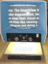 "Load image into Gallery viewer, VTEK 14"" Voyager Vidicon Low Vision Video Magnifier B/W Man. Focus Adj. Height"