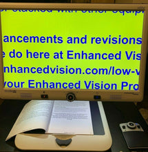"Load image into Gallery viewer, Enhanced Vision Merlin Elite Pro HD with 24"" LCD Desktop Low Vision Magnifier + OCR READER"