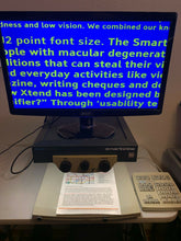 "Load image into Gallery viewer, Pulse Data Smartview 3000 B/W Low Vision Video Magnifier New 20"" LCD +Calculator"