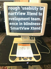 "Load image into Gallery viewer, OPTELEC 17"" Color Clearview 500 517 Low Vision Video Magnifier REFURB 50x w/ SF"