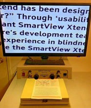 "Load image into Gallery viewer, Optelec Spectrum VGA New 24"" LCD Low Vision Video Magnifier Adjust Height"