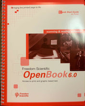 Load image into Gallery viewer, Freedom Scientific Openbook 6.0 Scanning and Reading Software OCR  **NOS**