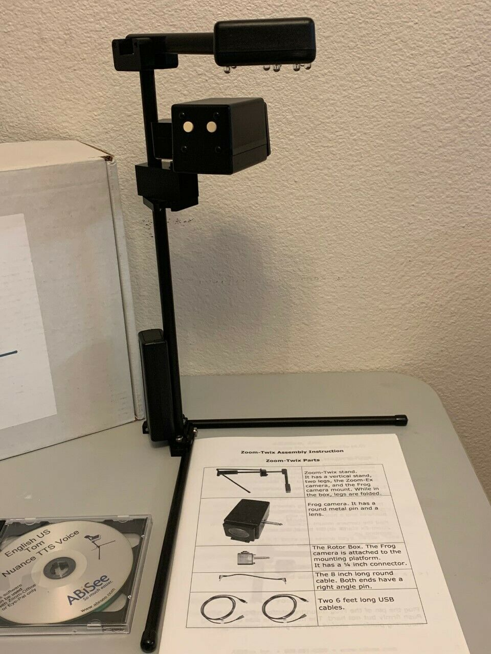 ABisee Zoom Twix Low Vision Distance Magnifier & OCR Reader Freedom Scientific