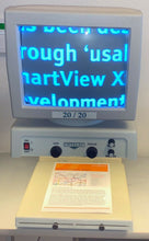 "Load image into Gallery viewer, Optelec 13"" CRT 20/20 Low Vision Video Magnifier Man. Focus Adj. Height upto 50x"
