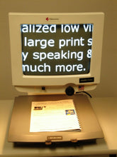 Load image into Gallery viewer, Telesensory B/W Aladdin Classic Low Vision Video Magnifier 25X EASY REFURBISHED