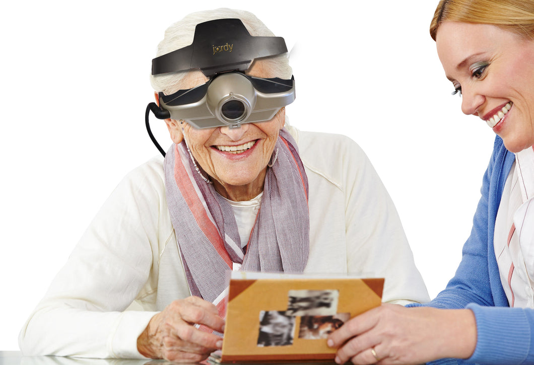 Jordy Wearable Portable Low Vision Magnification System