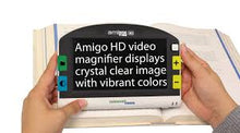"Load image into Gallery viewer, Amigo HD 7"" Widescreen Portable Video Magnifier & 2 Year Warranty"