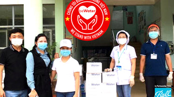 beWater™ Donates Water To Hospitals During COVID-19 Pandemic