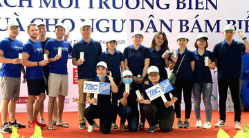 beWater™ Works With Local & National Government On A Massive Beach Clean Up In Bà Rịa Province