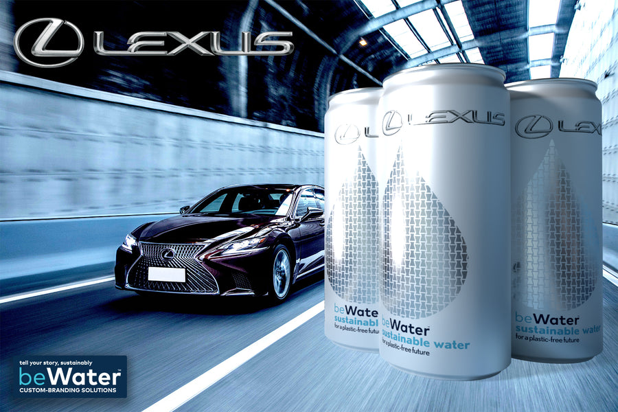 beWater™ Custom-Branded Solutions (Lexus 1)