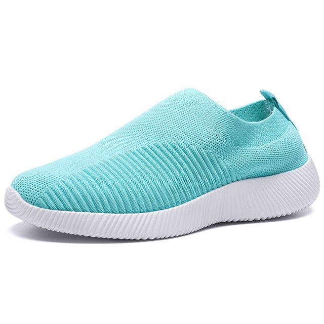 Breathable Mesh Women Platform Sneakers