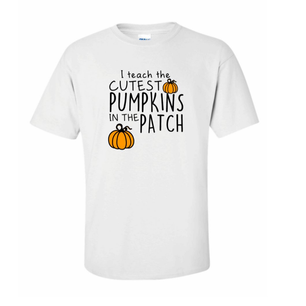 Cutest Pumpkins in the Patch Tee-White