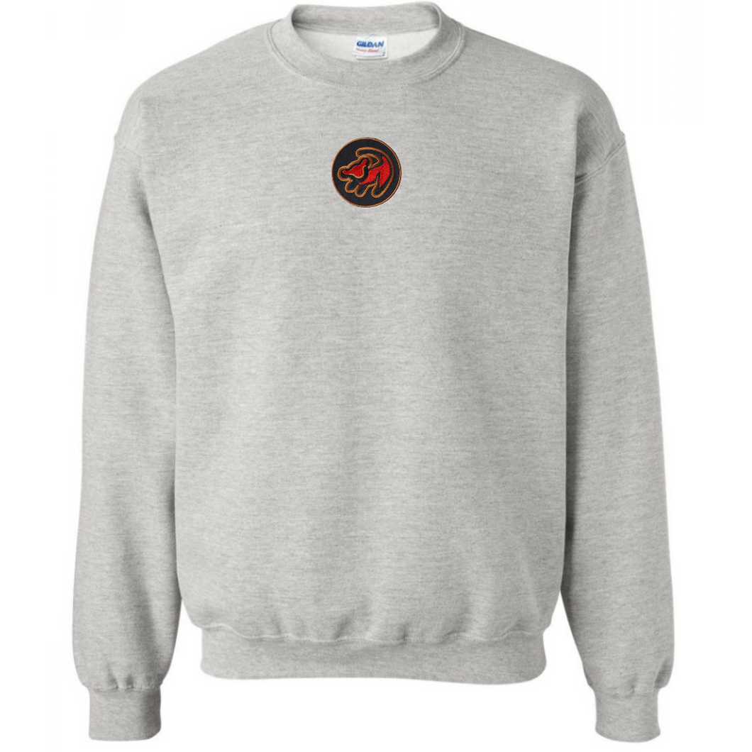 Lion King Crewneck- Grey