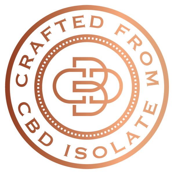 Crafted from CBD isolate