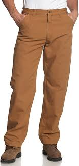 Carhartt B11 Washed Duck Work Pant Brown
