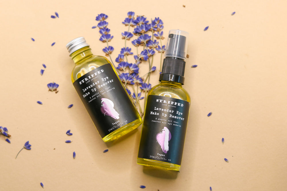 Lavender Eye Make Up Remover Oil