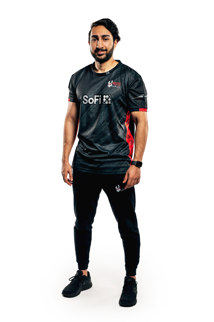 Misfits Gaming Custom Pro Jersey 2021, Black